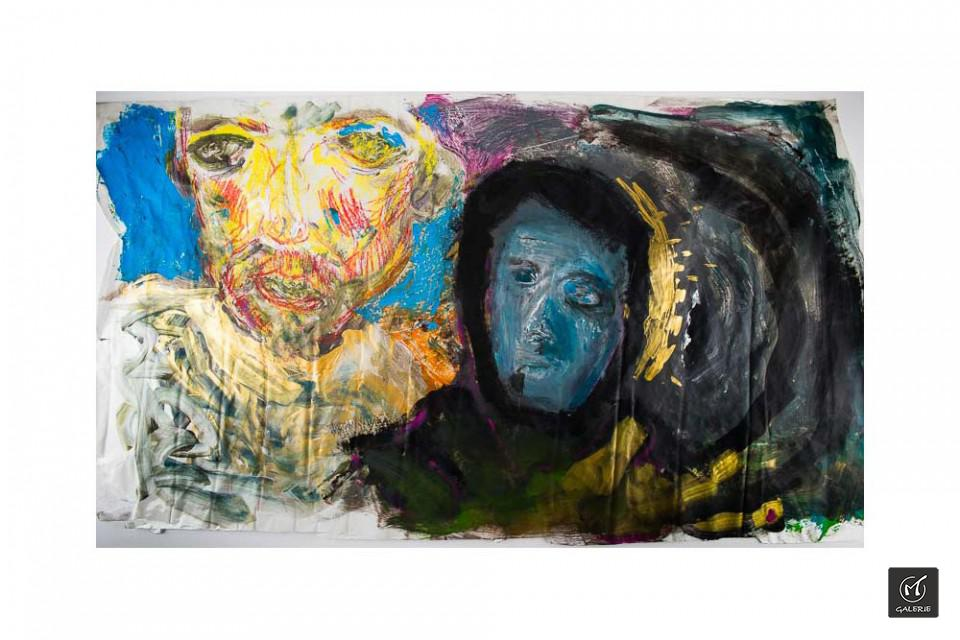 20-valter-santoni-und-fred-laur-MT-Galerie-Berlin-Doppelportrait