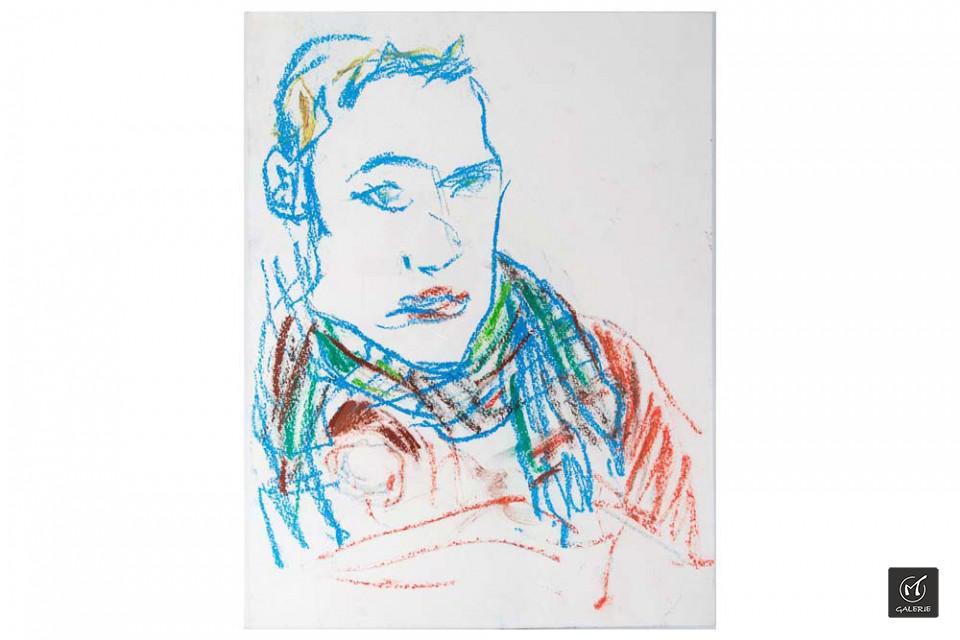 22-valter-santoni-und-fred-laur-MT-Galerie-Berlin-Selbstportrait-mit-Schall