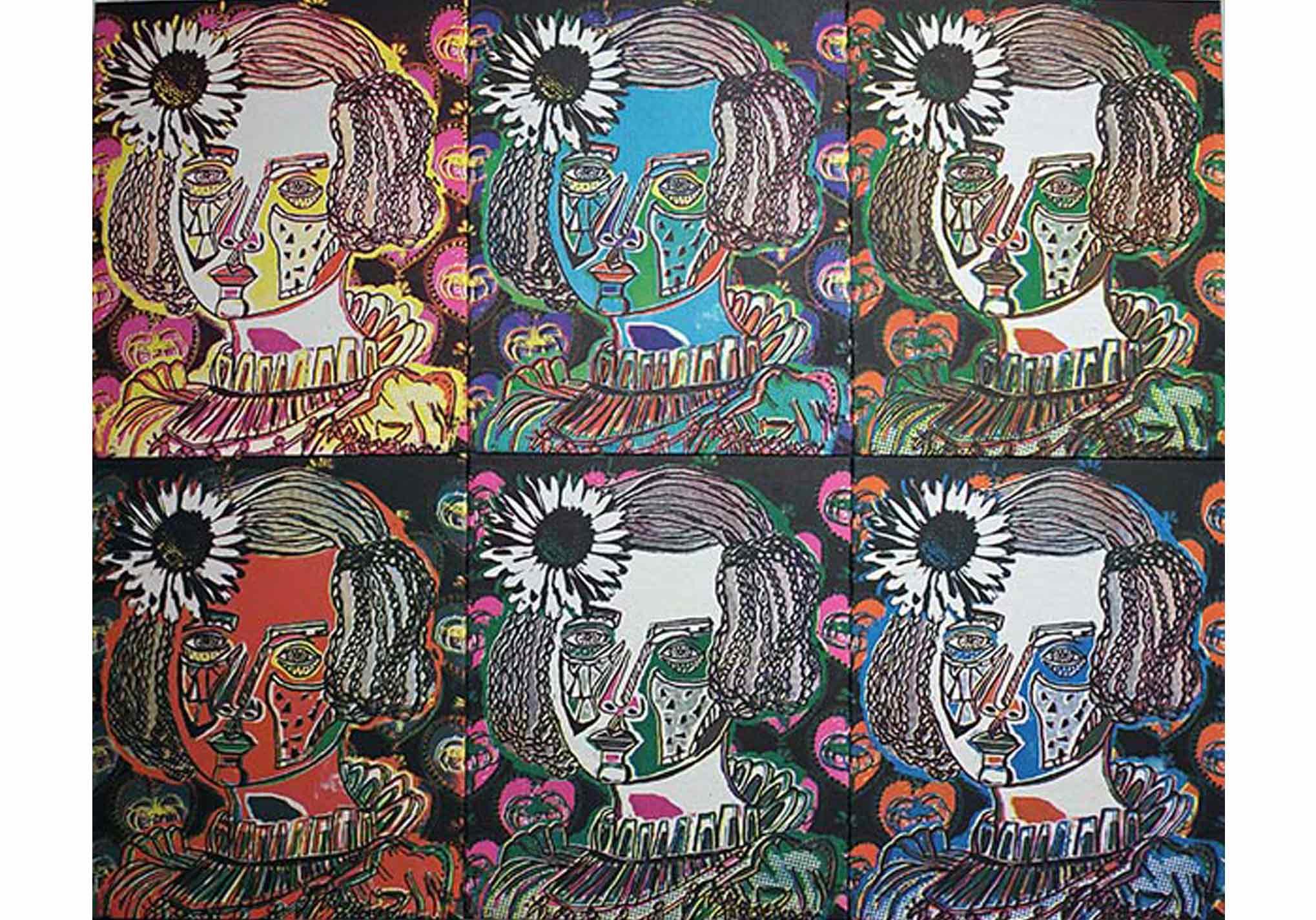Ann-Kristin-Fleischhauer-Blume-am-Kopf-1-Mt-Galerie