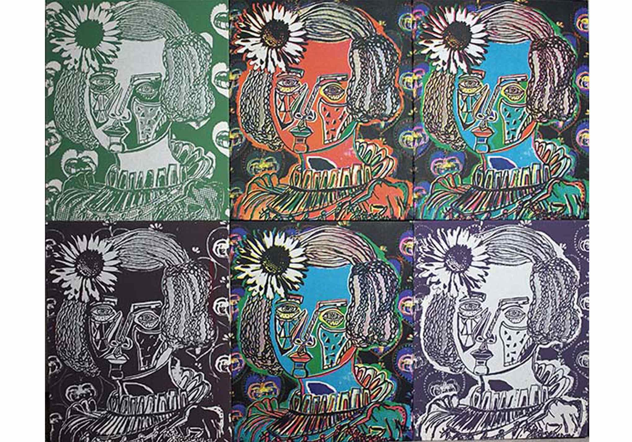 Ann-Kristin-Fleischhauer-Blume-am-Kopf-2-Mt-Galerie