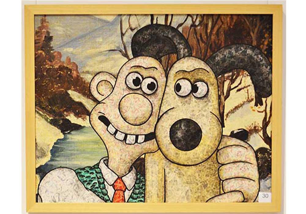 Wallace + Gromit Stefan Merkt MT Galerie Berlin