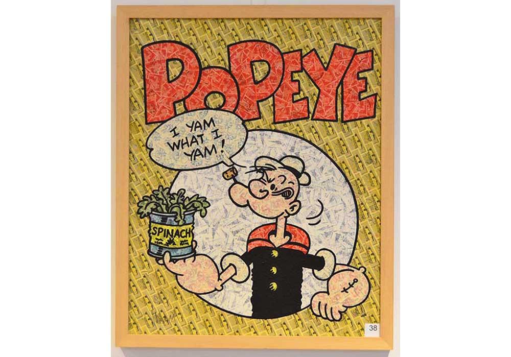 Popeye Stefan Merkt MT Galerie Berlin