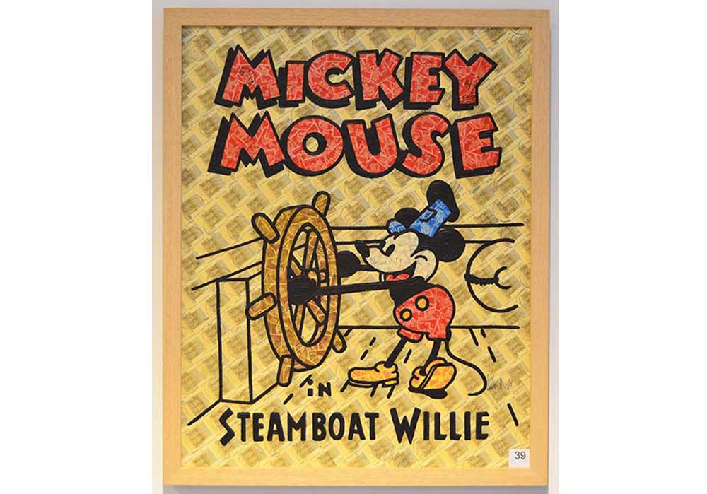 Steamboat Willie Stefan Merkt MT Galerie Berlin