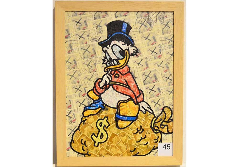 Dagobert Duck Stefan Merkt MT Galerie Berlin