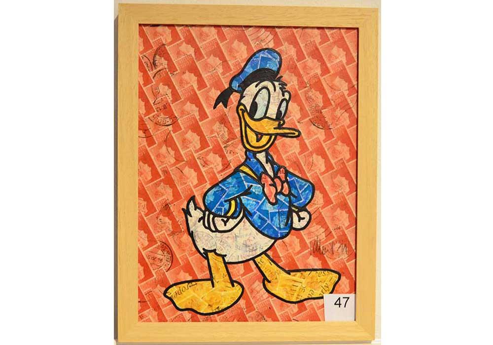 Donald Duck Stefan Merkt MT Galerie Berlin