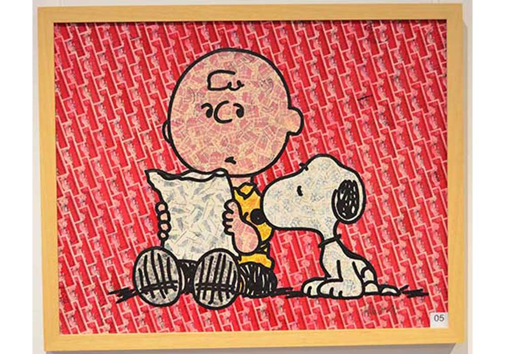 Charlie Snoopy Stefan Merkt MT Galerie Berlin