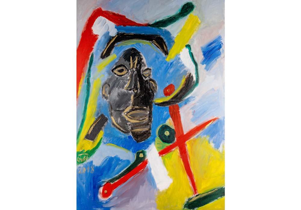 Abstrakt-2 - Gustav von Hirschheydt - MT Galerie