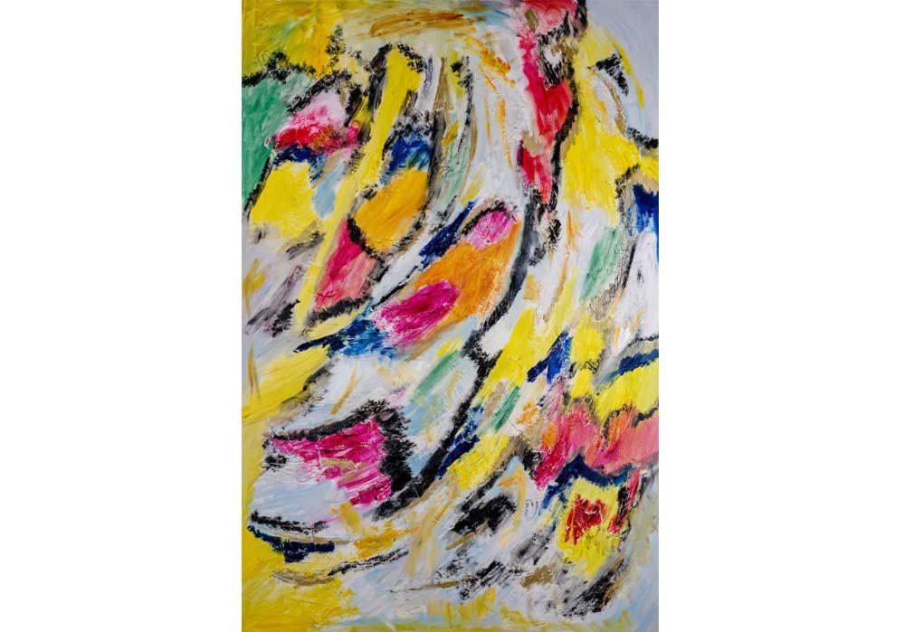 Abstrakt - Gustav von Hirschheydt - MT Galerie