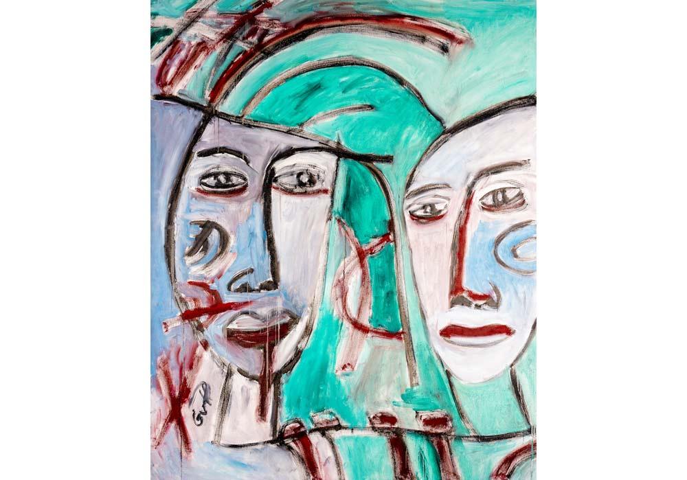 Gesichter - Gustav von Hirschheydt - MT Galerie