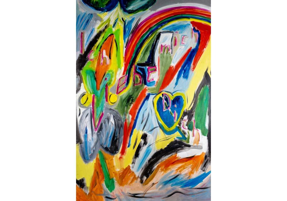 Ich liebe Dich - Gustav von Hirschheydt - MT Galerie