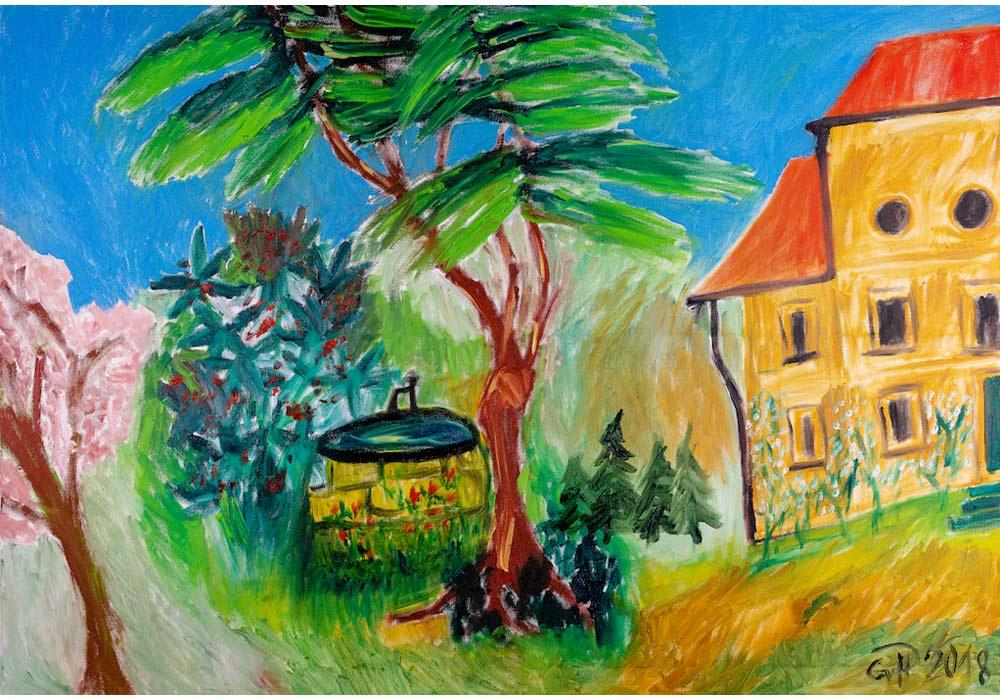 Landhaus - Gustav von Hirschheydt - MT Galerie