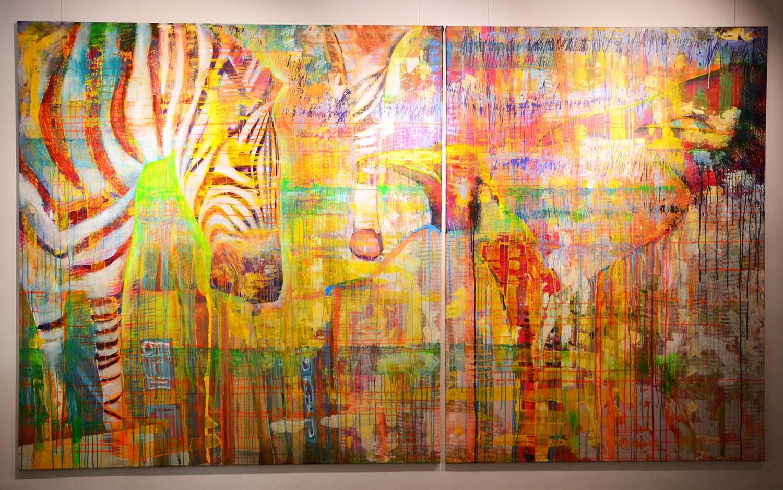 Zebradelic - Britta Reinhardt - MT Galerie