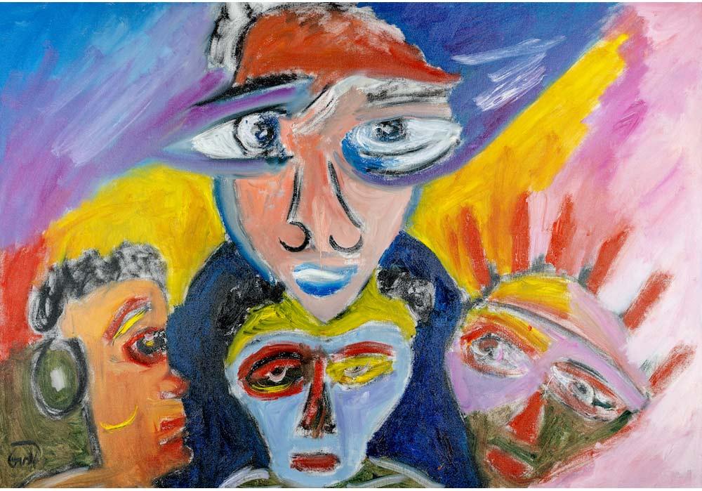 Zuschauer - Gustav von Hirschheydt - MT Galerie