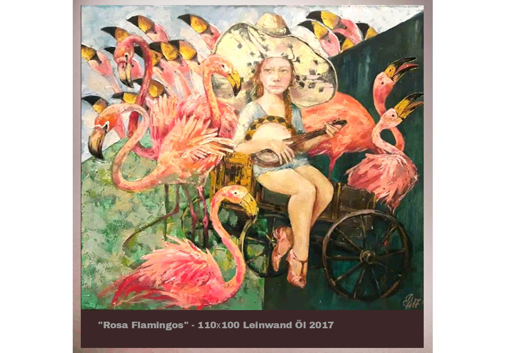 Milena Miller - Flamingo-MT-Galerie