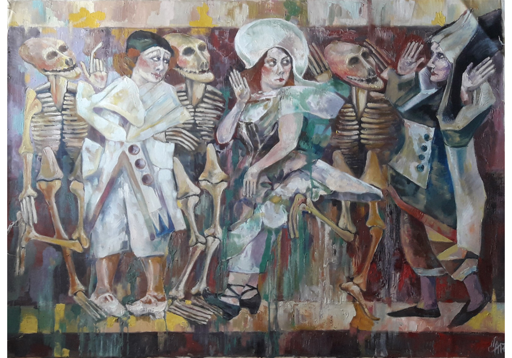 Milena Miller - Tanz mit dem Tod - MT-Galerie