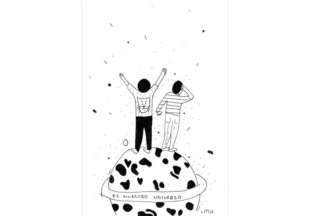 Pablo Rodriguez - DAS IST UNSER UNIVERSUM - Es nuestro universo - MT Galerie