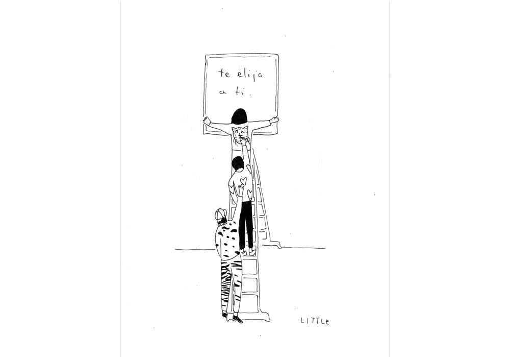 Pablo Rodriguez - DICH WÄHLE ICH AUS - Te elijo a ti - MT Galerie
