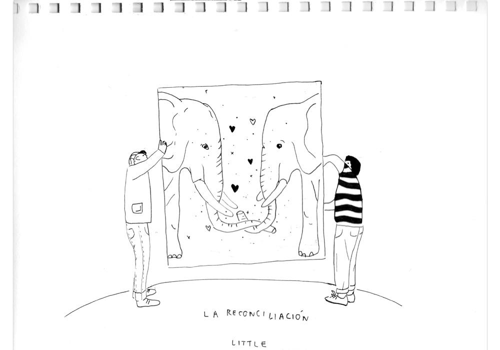 Pablo Rodriguez - DIE VERSÖHNUNG - La reconciliacion - MT Galerie