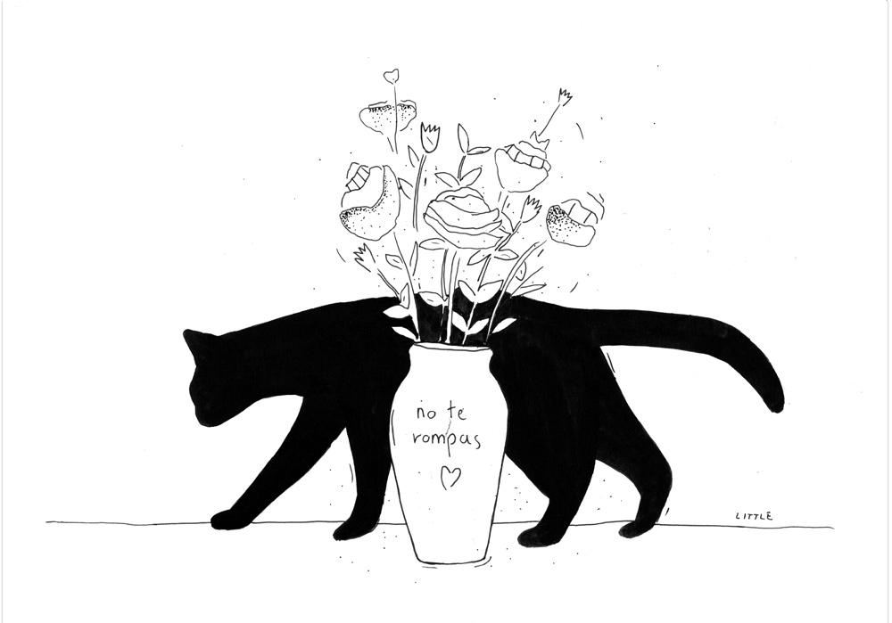 Pablo Rodriguez - GEH NICHT KAPUTT - No te rompas (gato) - MT Galerie