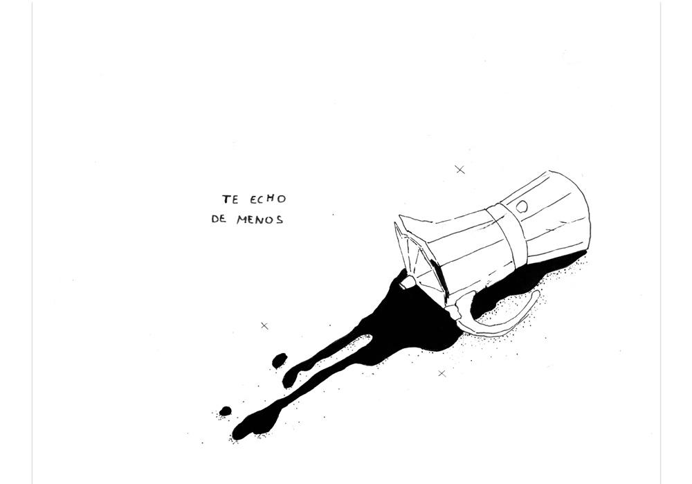 Pablo Rodriguez - ICH VERMISSE DICH - Te echo de menos - MT Galerie