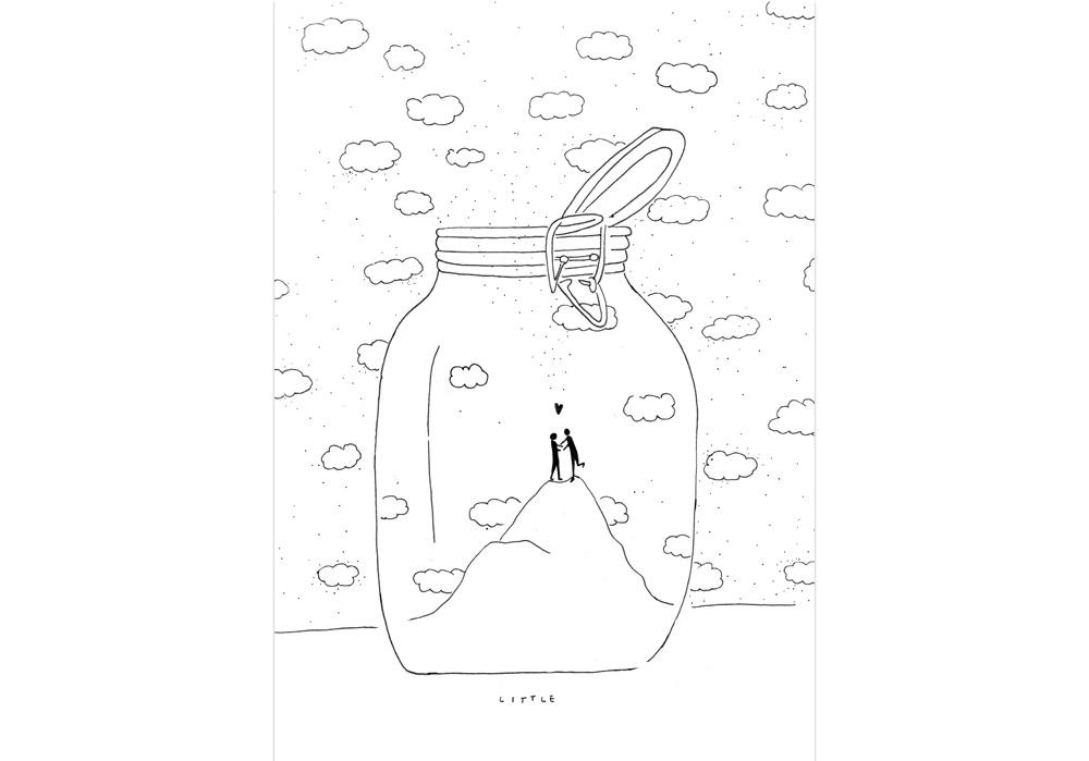 Pablo Rodriguez - UM AUF DICH AUFZUPASSEN - Para cuidar de ti - MT Galerie