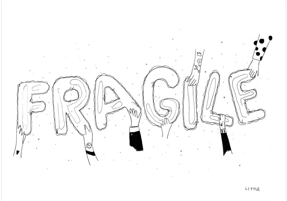 Pablo Rodriguez - ZERBRECHLICH - FRAGILE - MT Galerie