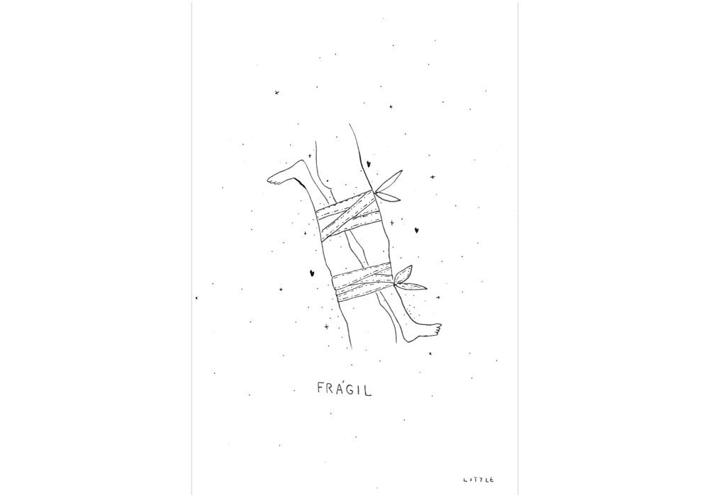 Pablo Rodriguez - ZERBRECHLICHE BEINE - Fragil piernas - MT Galerie