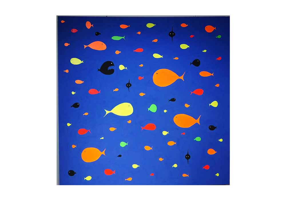 Eva Raboso - Aquarium Blue - MT Galerie