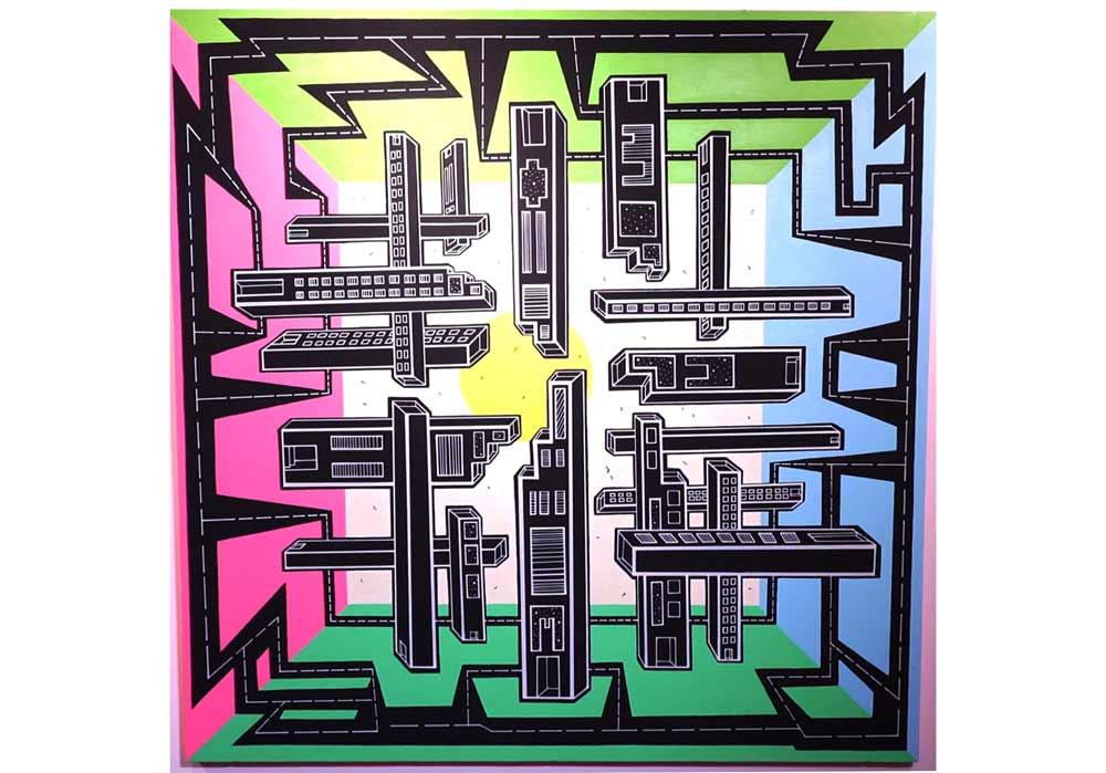 Eva Raboso - Urban Vertical 360 - MT Galerie