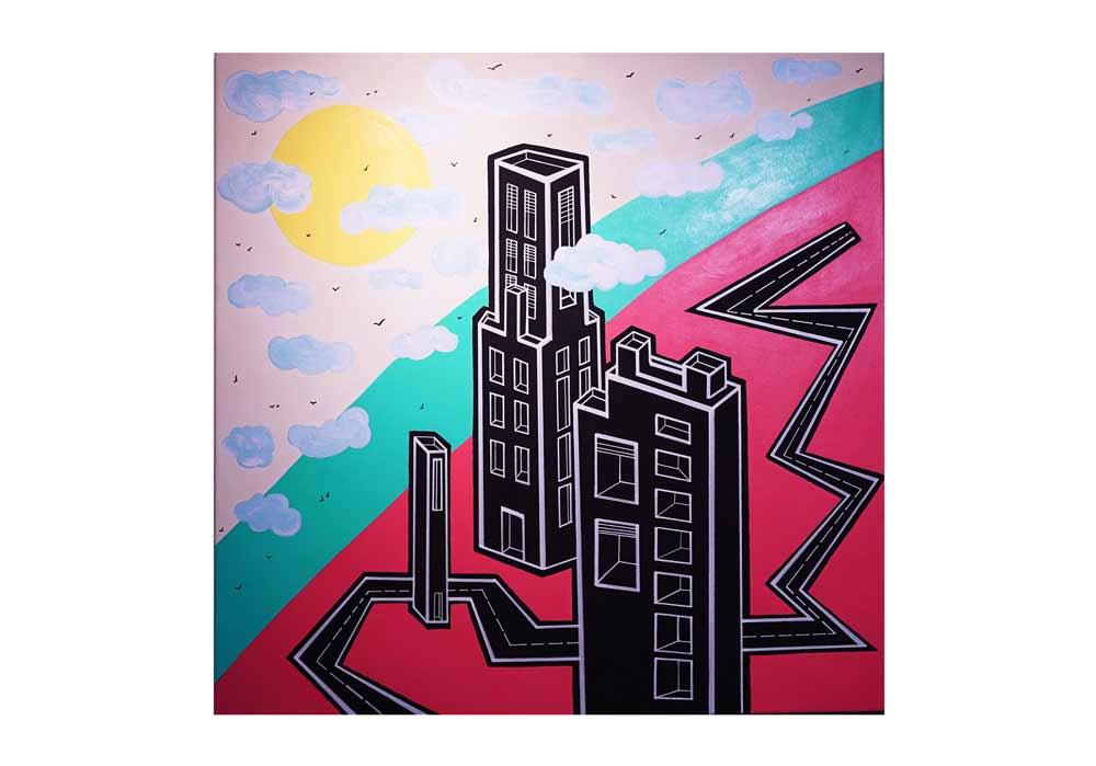 Eva Raboso - Urban Vertical Miami - MT Galerie