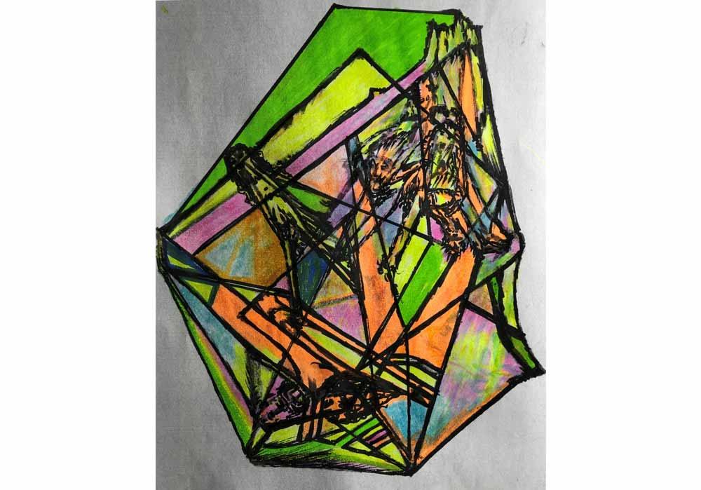 Segede Demissie - 1 abstrakt love - MT-Galerie