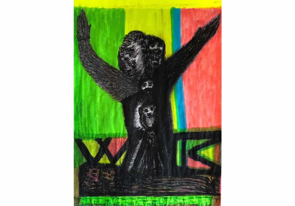 Segede Demissie - 1 love of bear - MT-Galerie