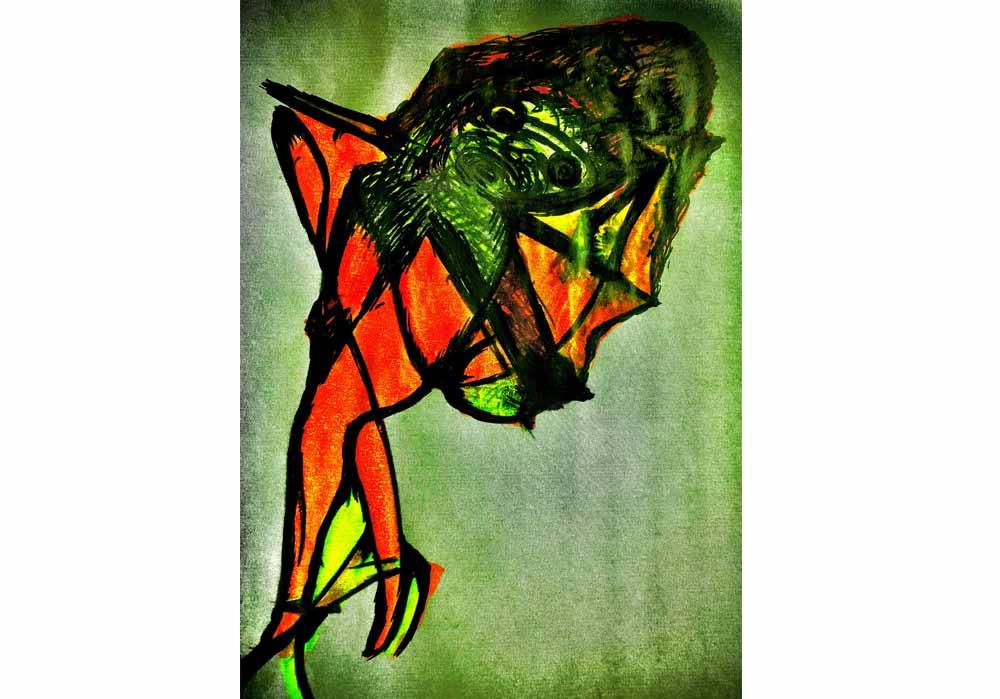 Segede Demissie - 2 abstract fantasy 1 - MT-Galerie