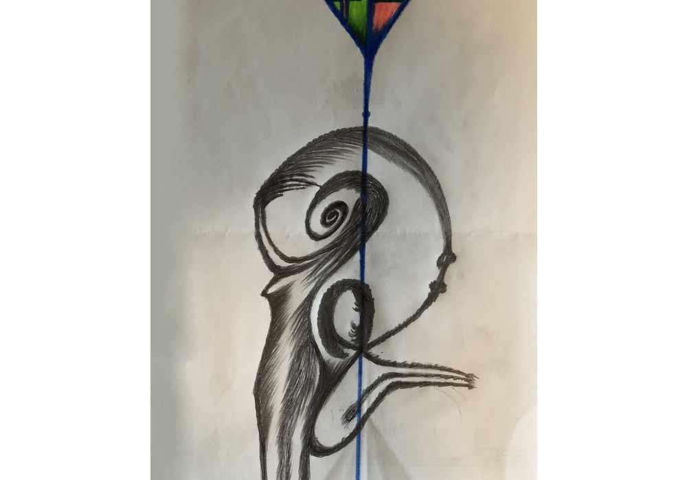 Segede Demissie - 2 abtract fantasy 2 - MT-Galerie