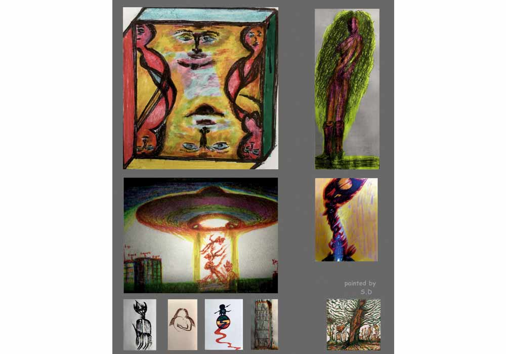 Segede Demissie - 2 different pictures 2 - MT-Galerie