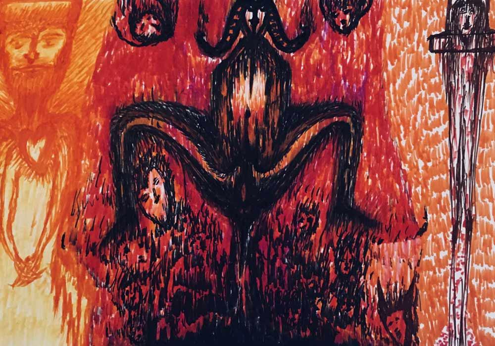 Segede Demissie - 2 witch - MT-Galerie