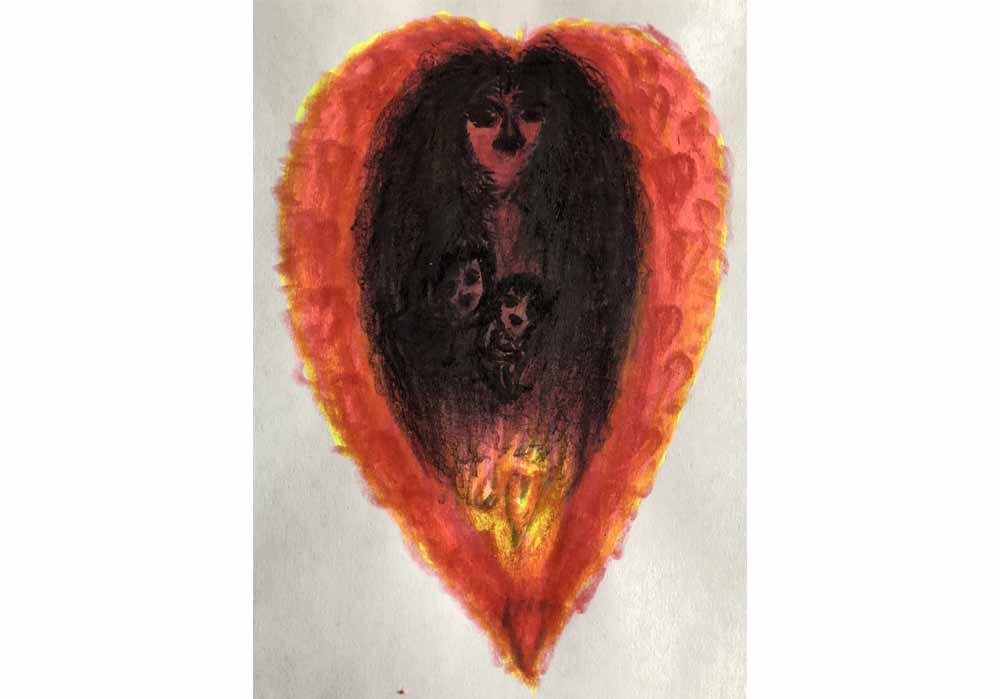 Segede Demissie - 3 Mother love - MT-Galerie