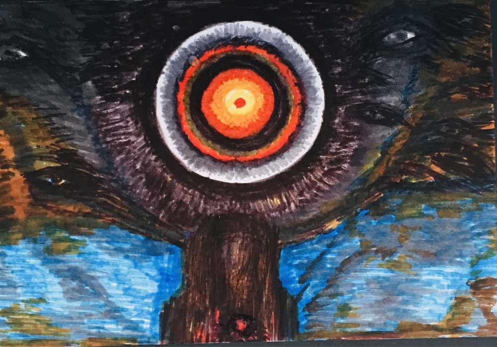 Segede Demissie - 3 The Face of Devil - MT-Galerie