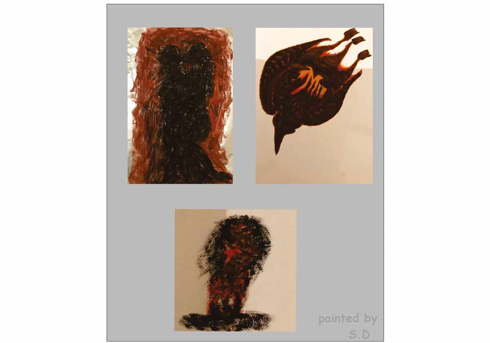 Segede Demissie - 3 different pictures 3 - MT-Galerie