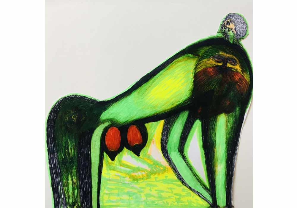 Segede Demissie - 4 fantasy of a man - MT-Galerie