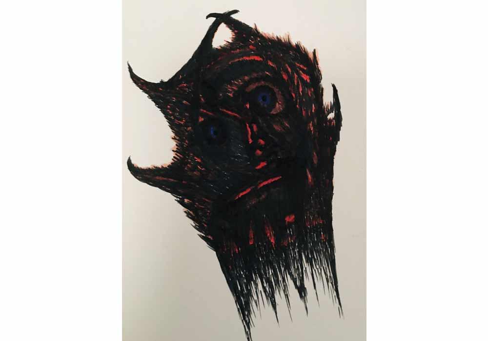 Segede Demissie - 5 Mask - MT-Galerie