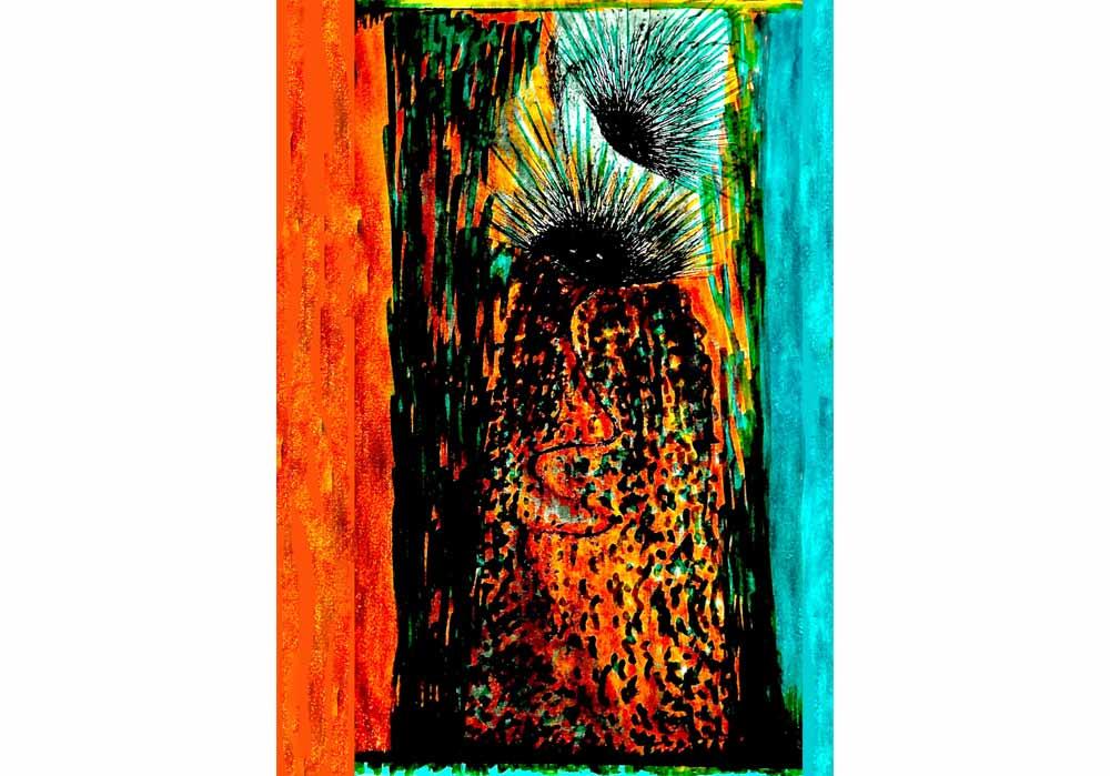 Segede Demissie - 5 the face of man - MT-Galerie