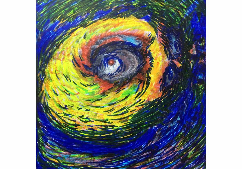 Segede Demissie - 6 the eye of the storm - MT-Galerie