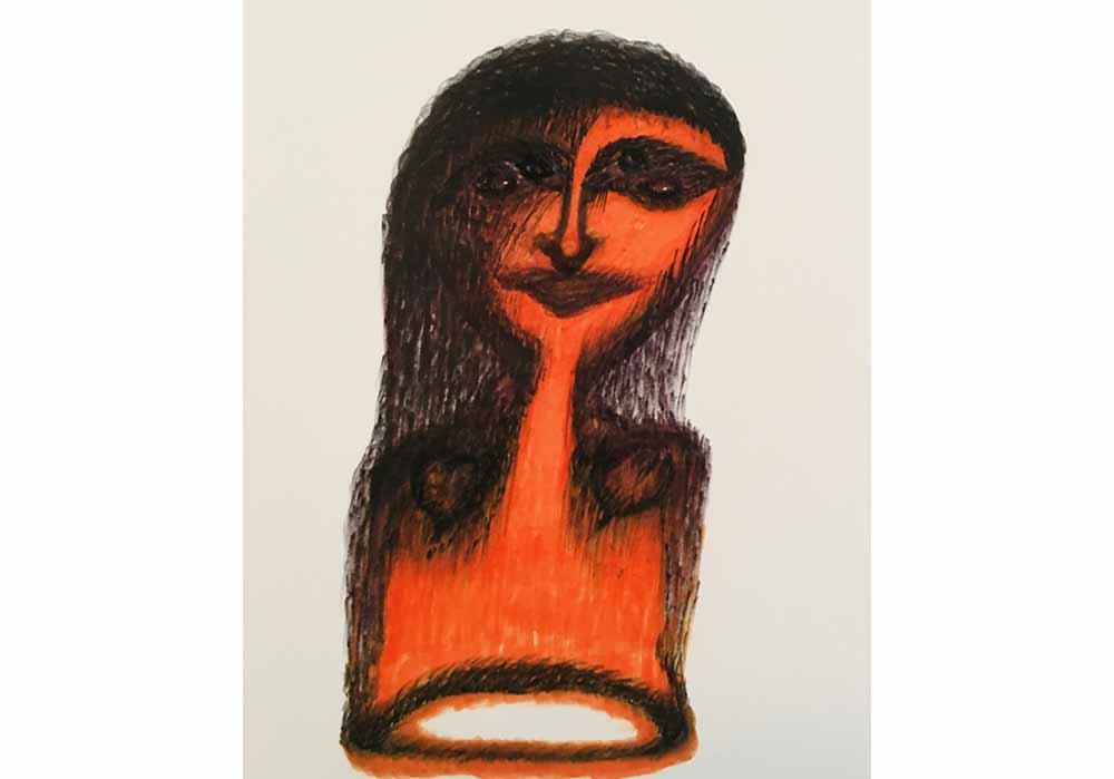 Segede Demissie - 7 beauty neck - MT-Galerie