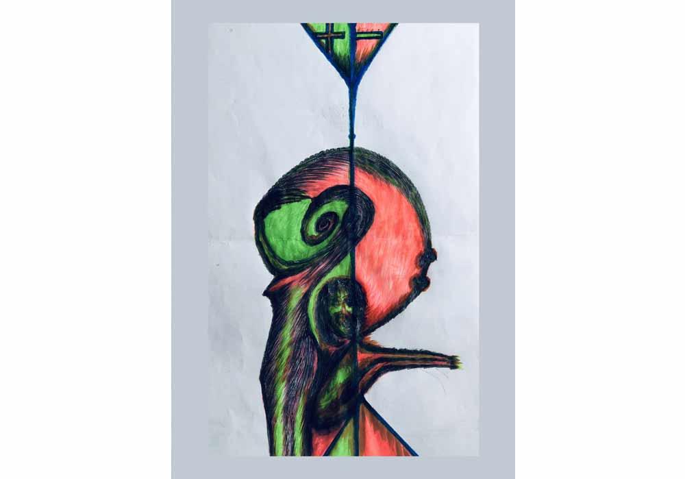 Segede Demissie - energy of human - MT-Galerie