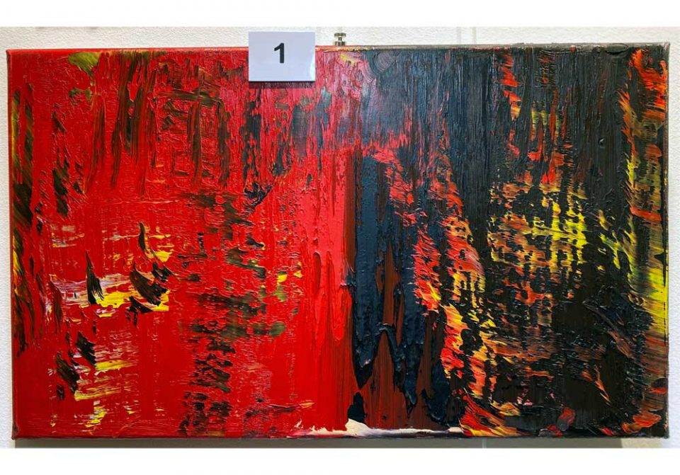 Rico Mocellin - 1 - Abstract-Oil-Painting - MT Galerie