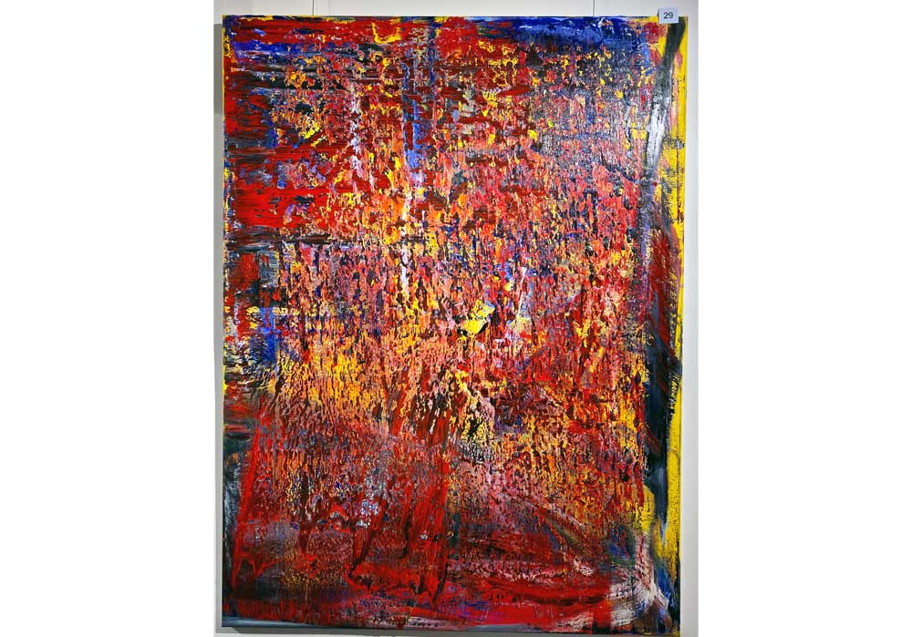 Rico Mocellin - 29 - Abstract-Oil-Painting - MT Galerie