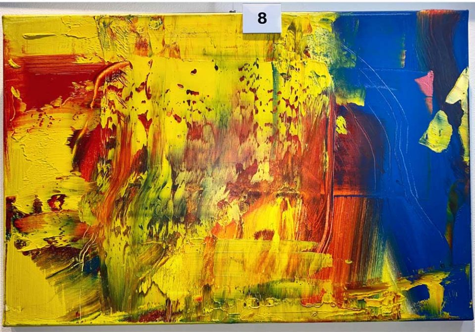 Rico Mocellin - 8 - Abstract-Oil-Painting - MT Galerie